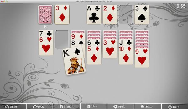 Mac Solitaire –Klondike Deal 1 screenshot